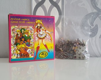 1996 Sailor Moon Puzzle - Sailor Moon Manga Anime Old Collection Item