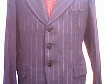 Burleigh Tailored Suit. 1930s/1940s.