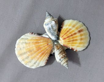 Mermaid Seashell Hair Clips