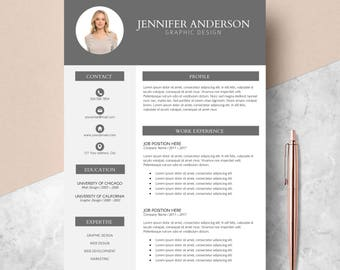 resume template cv template for ms word professional resume creative resume modern