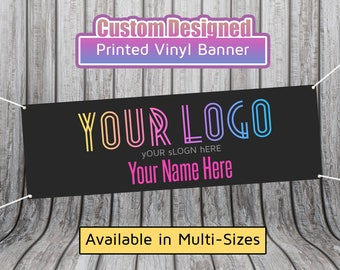 Black LLR Custom Hanging HD Vinyl Banner - Different Sizes Available - LLR Sign - LuLa Banner - Quick Turnaround - Overnight Shipping