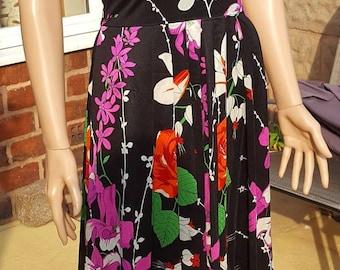 1970s Floral Maxi Dress, 70s Floral Maxi Dress, 1970s Maxi Dress, 70s Maxi Dress, Vintage Maxi Dress, 1970s Vintage Dress, True Vintage,