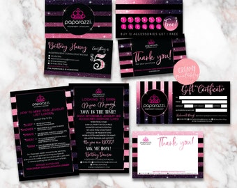 Paparazzi Business Card - Paparazzi Bundle Pack - Paparazzi Jewelry - Paparazzi Marketing Kit