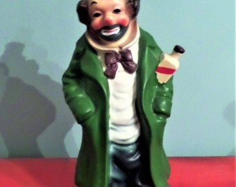 Vintage Pacific Import Clown Figurine.  1950's