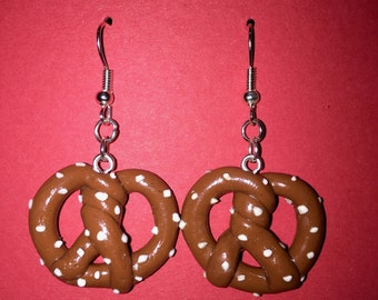 Pretzel Dangle Earrings