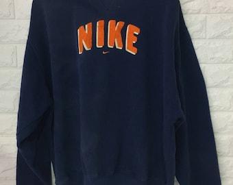 Vintage Nike sportwear men/women clothing big logo spell out sweatshirts pullover sweater size L