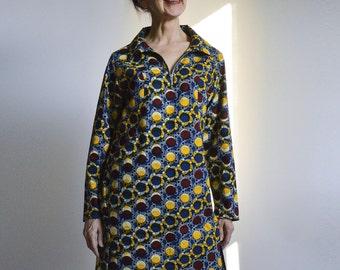 Loose tunic-dress