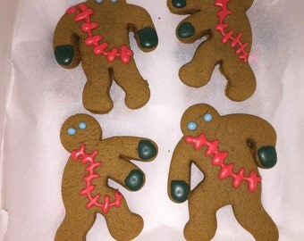 Gingerbread White Walkers - Cookies Inspired by Game of Thrones / A Song of Ice and Fire