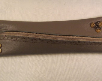 Pencil-pencil-elf in soft leather-extra long for Tombow