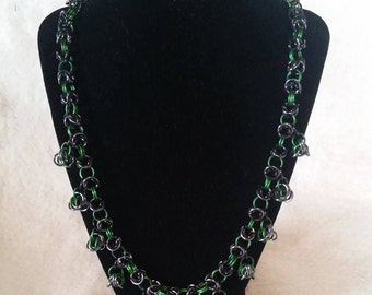 Celtic Knot Chainmaille Necklace
