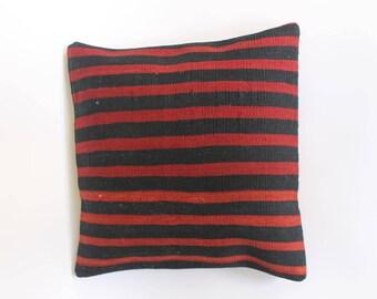 100% wool Kilim cushion covers stripes pattern