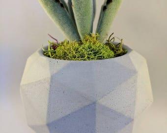 Concrete Planter | Geometric Planter | Succulent Planter | Handmade Planter  | Home Decor | Plant