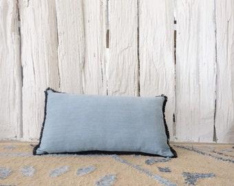WILLOH Denim Boudoir cushion pillow