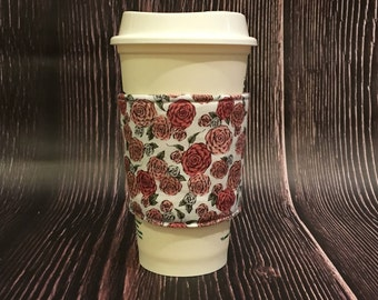 English Rose Coffee Cozy