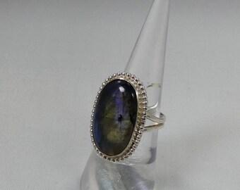 Labradorite set in 925 Silver.