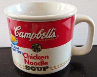 Vintage 1997 Campbell's Chicken Noodle Soup Mug
