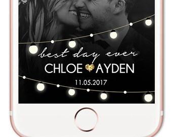 Snapchat Filter Wedding, Wedding Snapchat Geofilter, Custom Snapchat Filter. Custom GeoFilter. Snapchat GeoFilter. Personalized Filter
