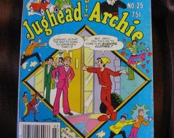 Vintage 1977 Jughead with Archie Comic Book No. 25