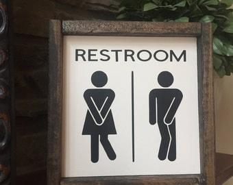 toilette zeichen holz zeichen kinder badezimmer zeichen erwachsene bad zeichen bad - Fantastisch Badezimmereinrichtung
