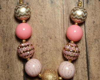 Pink Sunset Bubblegum Necklace