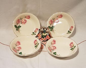 ROSE BOUQUET Made in England 22KT