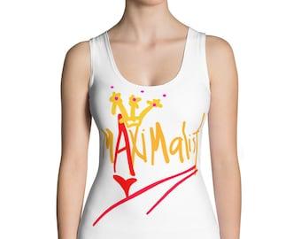 Maximalist Fashionista Madame X Sublimation Cut & Sew Tank Top