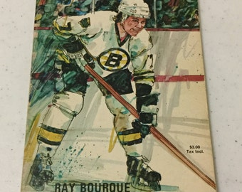 NHL Boston Bruins 1980-81 Official Yearbook