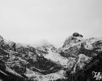 Canvas - Swiss Alps