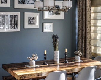 Rustic dining table Etsy