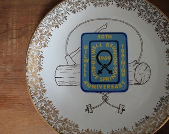 Vintage Camp Reunion Plate