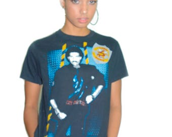 Vintage LIONEL RICHIE Shirt 1984 Running with the Night Tour Concert shirt Band Tee Soul Music Pop Music 1980s Tee 1980s shirt Prince M