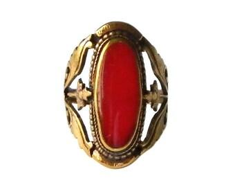 Antique Art Nouveau Ring Size 6 1/2