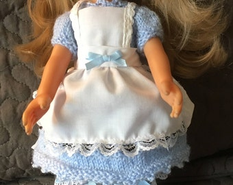 "Outfit ""Alice in Wonderland country"" to 33 cm the sweethearts doll"