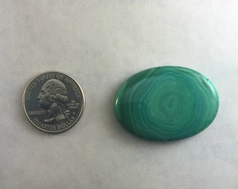 Large AAA Quality Malachite approx. 41mm x 30mm
