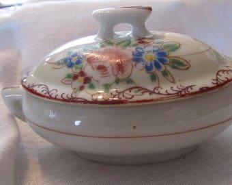 Doll set : Soup Tureen and Platter, Toys, Vintage, Porcelain, children