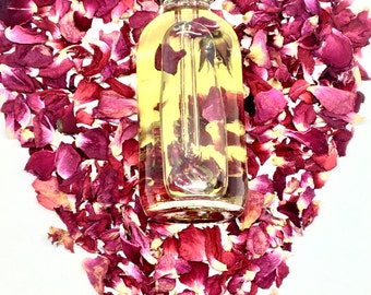 ROSE BODY OIL| Massage Oil Gift| Body Oils for Women |Massage Oil |Body Oil Organic |Organic Body Oil |Self Care |Ananda Botanicals
