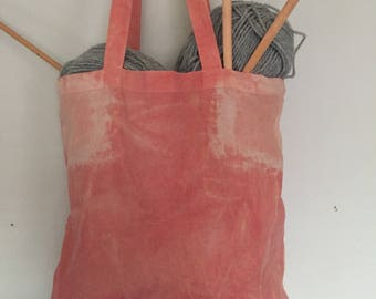 Naturally Dyed Tote Bag.