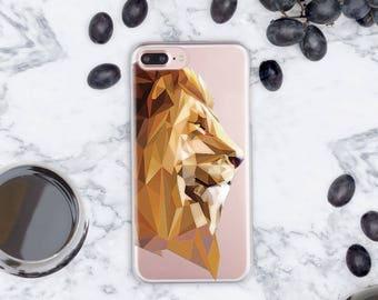 Lion Head iPhone 7 Case Paint 6s Plus iPhone Case iPhone 7 Plus Case iPhone 6 Case iPhone SE Case 8 iPhone Case iPhone 6s Case Clear cn1035