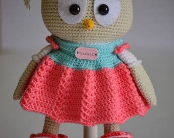 Knitted TOY Birthday gift Gift for her Gift for kids Nursery decor Handmade doll Eco toy Gift Crochet Plush toy Baby toys Store toys