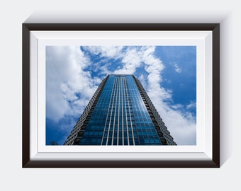 Tall Skyscraper Building Picture, Fine Art Photography Print, City Skyscraper Art Decor *unframed*