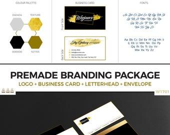Premade branding Kit in 24hrs, Branding, Custom branding, Branding kit, Branding Iron, Branding package, Photography branding, Logo | W1701