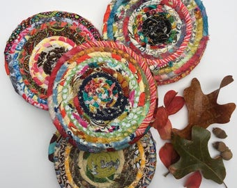 Scrappy Rope Coaster Set of 4