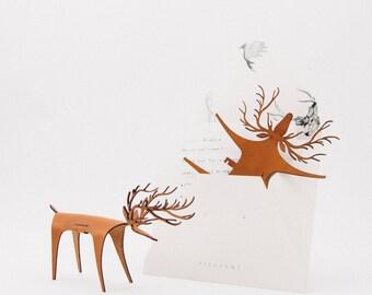 Deer Card Classic, Christmas Card, Christmas Gift, Greeting Card