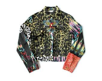 1990s ROBERTO CAVALLI Leopard Jacket