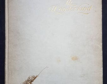 Alice's Adventures in Wonderland by Lewis Carroll - Scarce Peter Newell Illustrated Edition, 1901 - Fair - Antique