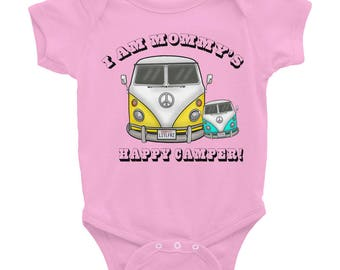 Baby Mommy Onesie - VW Bus Camper Baby Girl Mommy Shirt - Infant Bodysuit - Gift Baby Boy, Baby Girl - Car Lover Baby Gift - Baby Shower
