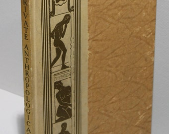 Hardcover Book:  A Private Anthropological Cabinet of 500 Authentic Racial -- Esoteric Photographs and Illustrations