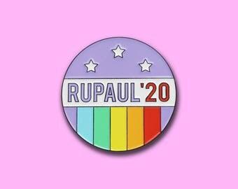RuPaul '20 Enamel Lapel Pin