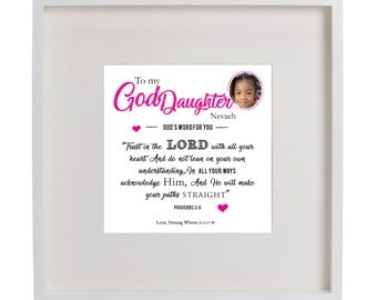 Personalised word art - 'God's word for you '