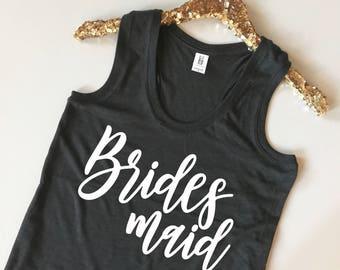 Bridesmaid Tank Top - Bridesmaid Proposal - Bridesmaid Shirt - Bridal Party Tank Top - Bridesmaid Tanks - Bridesmaid Shirts - Bridal Tanks